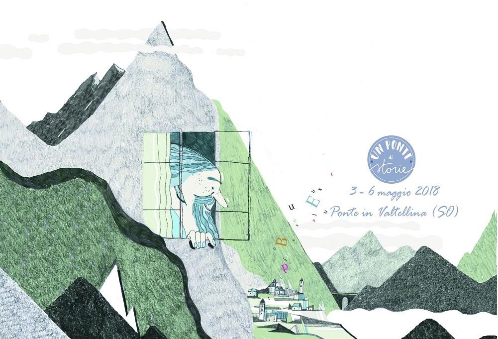 Un Ponte di storie copertina fb con logo e data ridimensionato