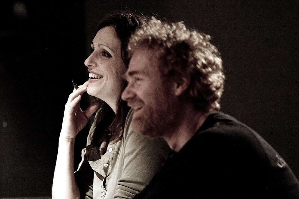 Monica Morini e Bernardino Bonzani (Direzione Artistica MAPS)