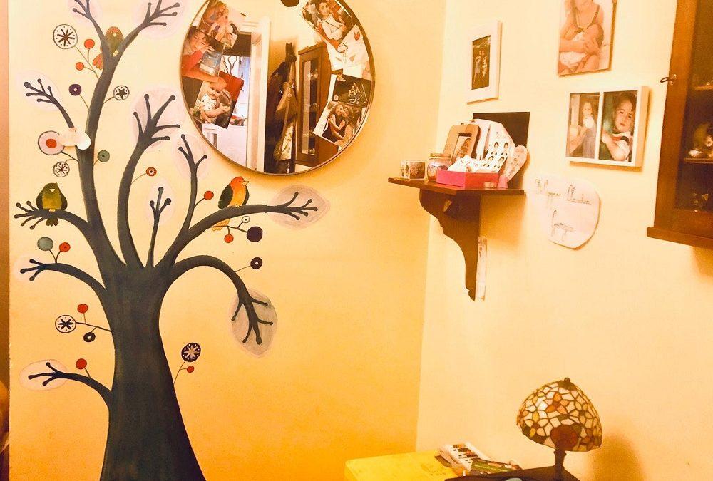 Ritratti #34 L'albero dipinto di Claudia Fachinetti