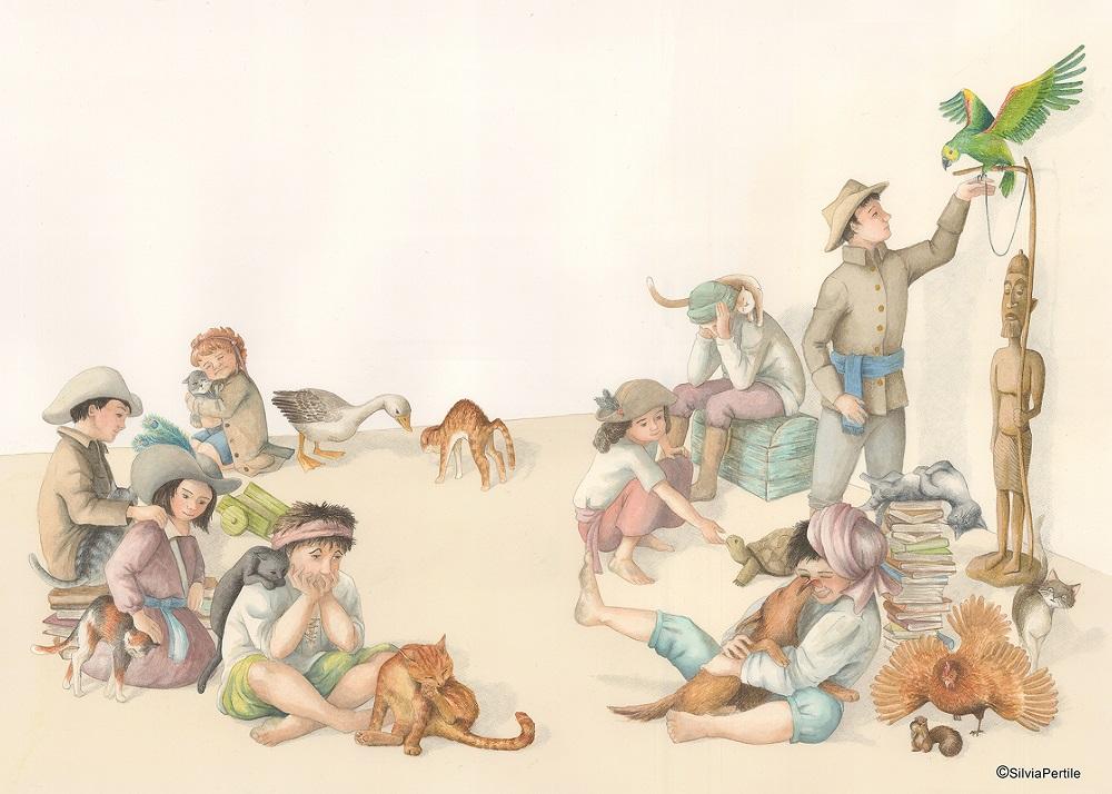 Pertile_Silvia_pag20-21_I bambini si prendono gli animali