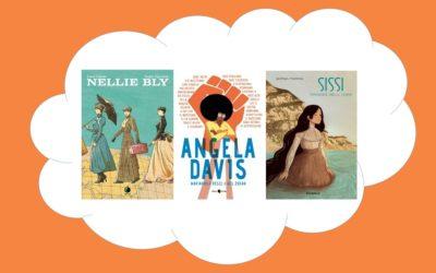Festa della donna: tre biografie al femminile